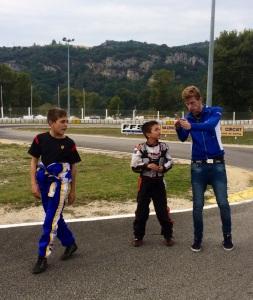 cours de karting